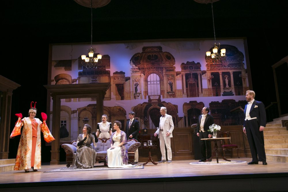 "The cast of ""Old Money."" (Courtesy Evgenia Eliseeva)"