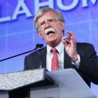 In this photo, former United Nations Ambassador John Bolton speaks at the Southern Republican Leadership Conference in Oklahoma City on Friday, May 22, 2015. President Donald is replacing National security adviser H.R. McMaster with Bolton.  (Alonzo Adams)