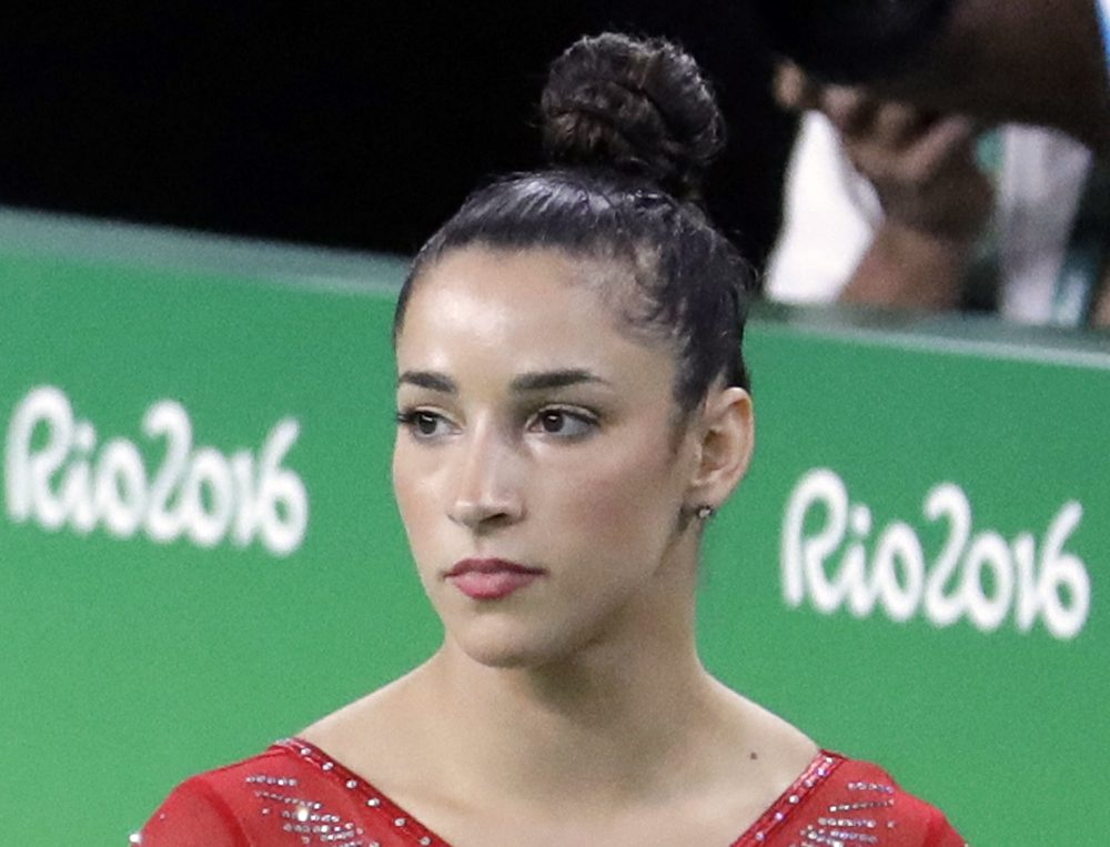 Aly Raisman, in an Aug. 11, 2016, file photo (Julio Cortez/AP)