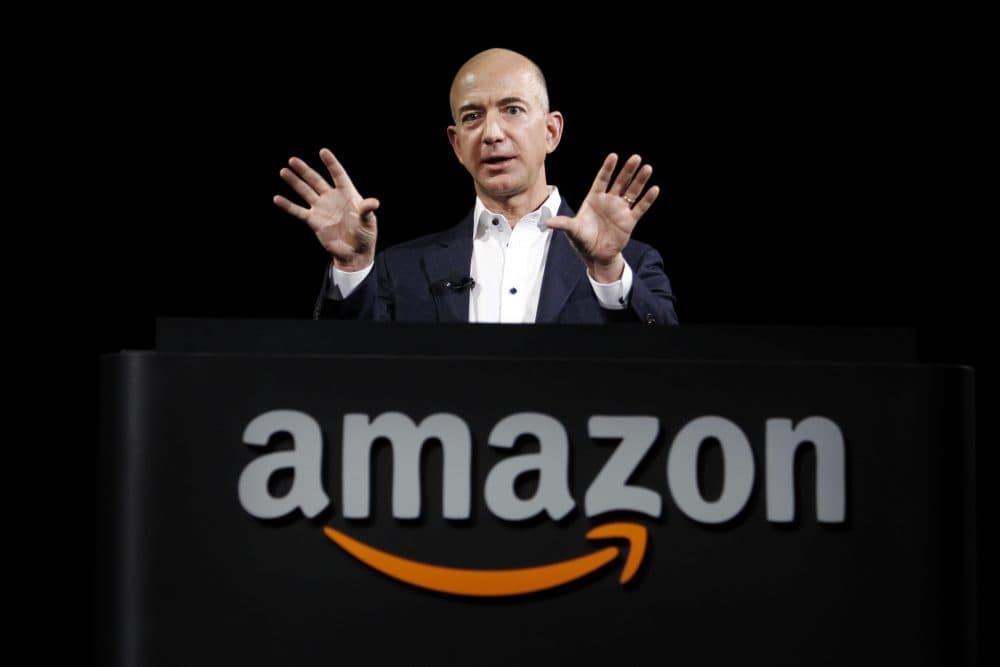 Jeff Bezos, CEO and founder of Amazon (Reed Saxon/AP)