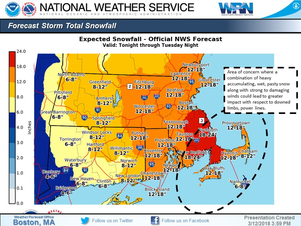 Snow Storm Weather Map.Forecast Intense Snowstorm Is Coming Tonight Boston Likely To See