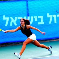 Nadine Fahoum (pictured) and her brother, Fahoum, grew up playing at the Israel Center in Haifa. At first, they were the only playing there. (Courtesy Nadine Fahoum)
