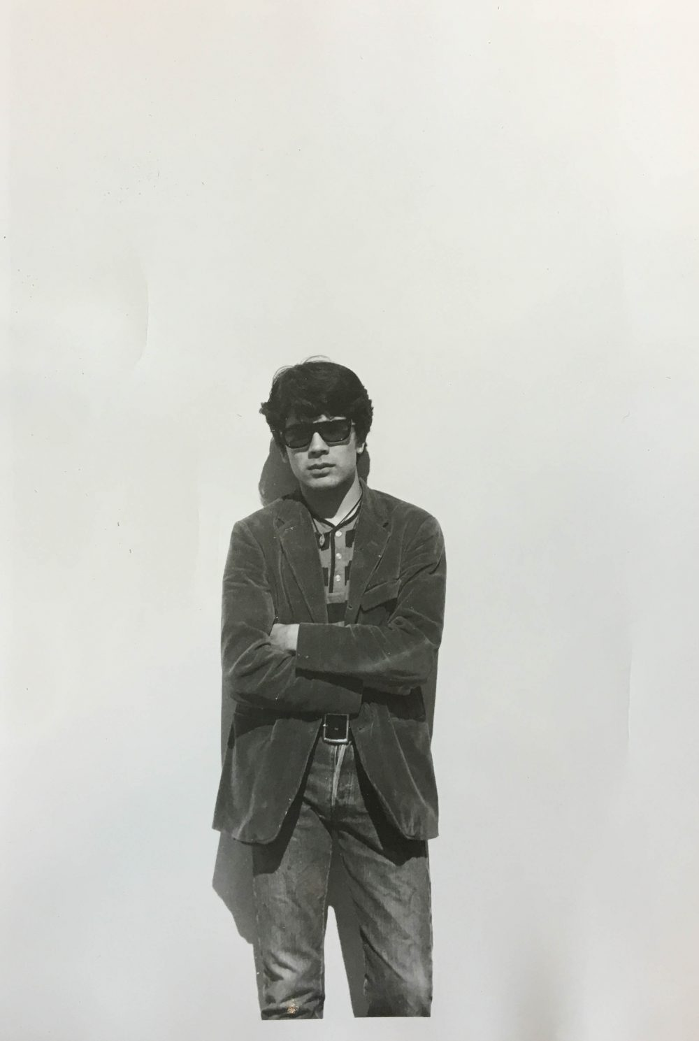 A portrait of artist T.C. Cannon around 1965. (Courtesy Institute of American Indian Arts)