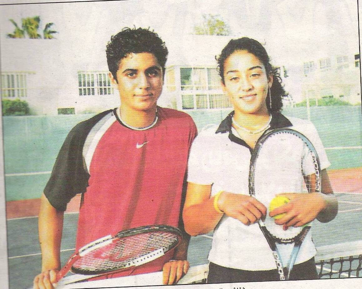 Nadine and Fahoum in 2005. (Courtesy Nadine Fahoum)
