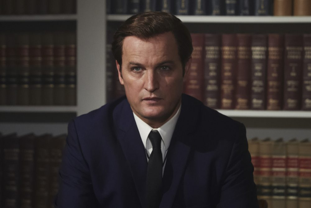 Jason Clarke stars as Ted Kennedy in director John Curran's CHAPPAQUIDDICK, an Entertainment Studios release. (Claire Folger/Entertainment Studios)