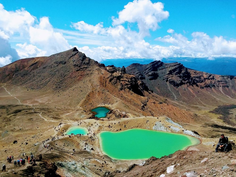 Tongariro National Park, pictured on the day the author visited. (Courtesy)