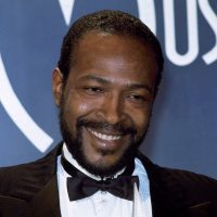 In this Jan. 17, 1983, file photo, singer-songwriter Marvin Gaye attends the American Music Awards in Los Angeles. (Doug Pizac, File/AP)