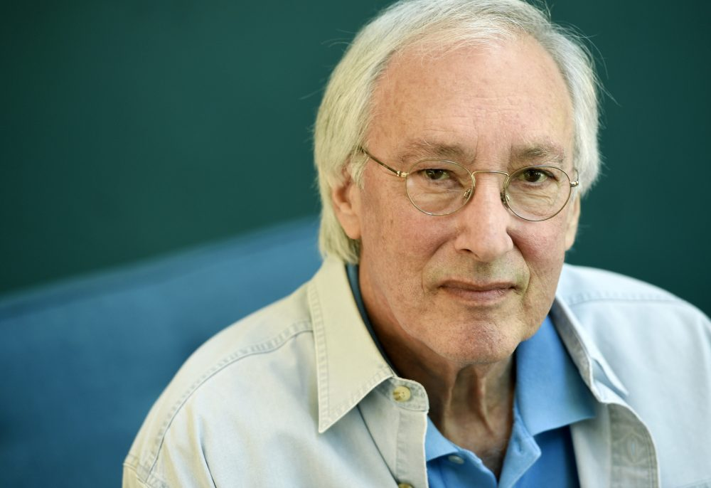 In this Aug. 17, 2016 file photo, television writer/producer Steven Bochco poses for a portrait at his office in Santa Monica, Calif.  (Chris Pizzello/Invision/AP)