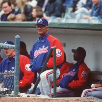 Felipe Alou had a long career in baseball, but in 1963 a moment in his home country of the Dominican Republic made baseball take a back seat in his mind. (Jonathan Daniel/ALLSPORT)