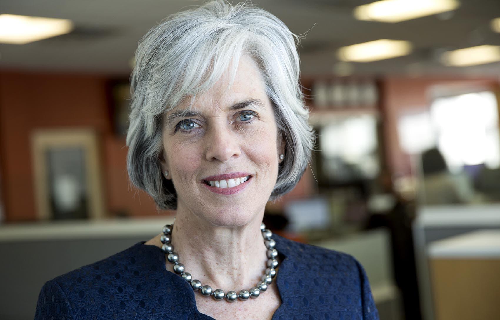 Massachusetts U.S. Rep. Katherine Clark (Robin Lubbock/WBUR)