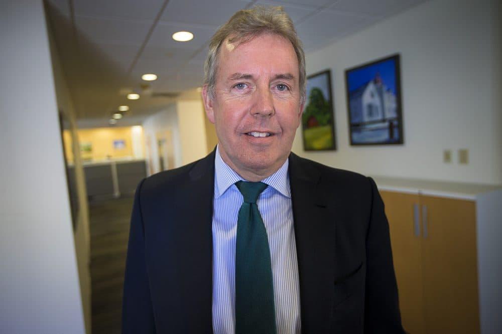 U.K. Ambassador to the U.S. Sir Kim Darrock. (Jesse Costa/WBUR)
