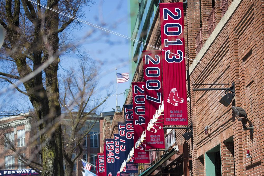 Missing Red Sox Banner Returned Radio Boston