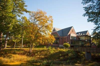 A building on Mount Ida College's campus (Courtesy Mount Ida via Facebook)