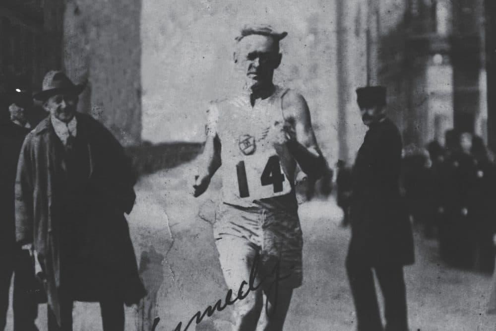Bill Kennedy won the 1917 Boston Marathon at the age of 33. (Courtesy of University of Massachusetts Press)