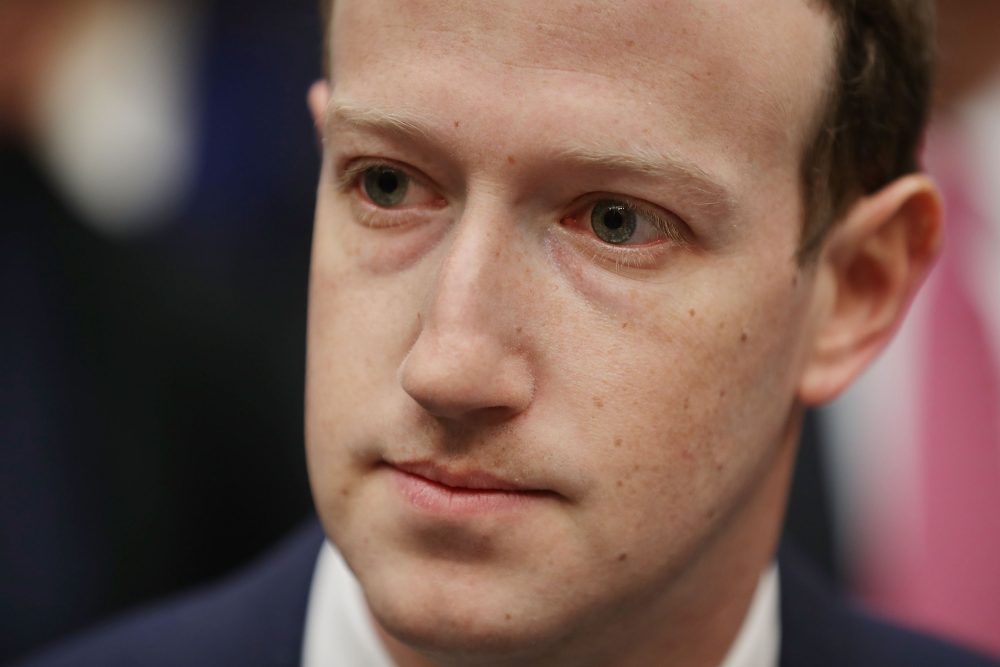 Facebook CEO Mark Zuckerberg prepares to testify before the House Energy and Commerce Committee in the Rayburn House Office Building on Capitol Hill on April 11, 2018 in Washington, D.C. (Chip Somodevilla/Getty Images)