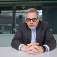 Philadelphia District Attorney Larry Krasner at WHYY studios. (Kimberly Paynter/WHYY)