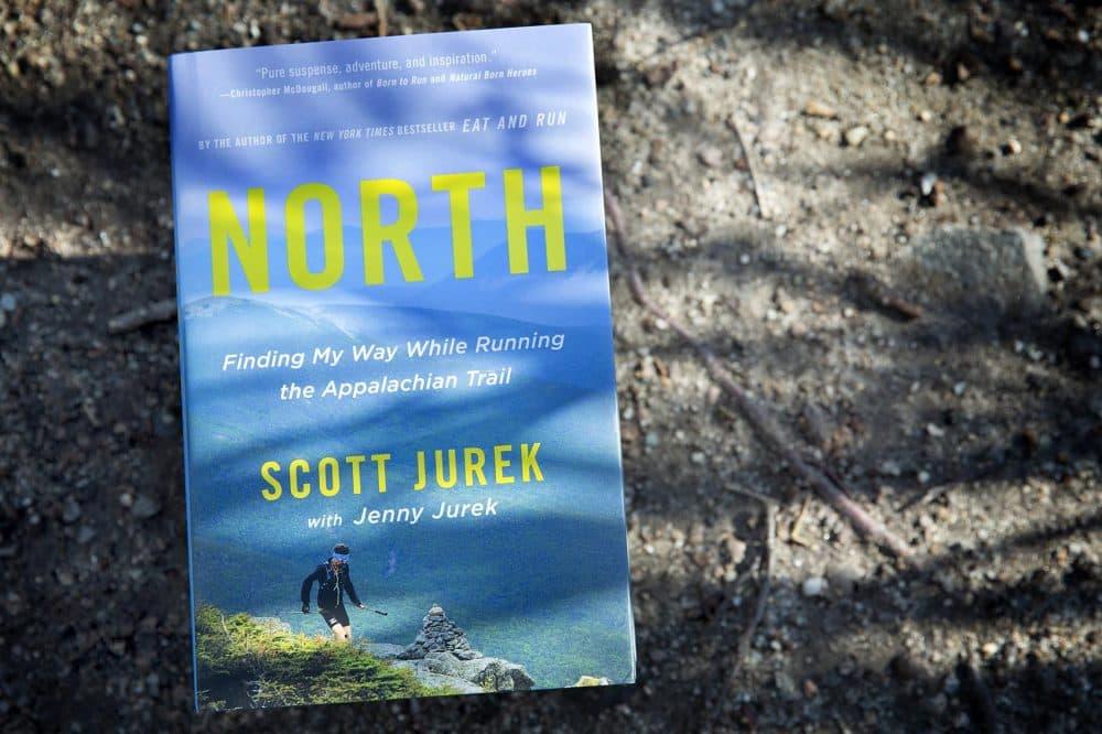 """North,"" by Scott Jurek, with Jenny Jurek. (Robin Lubbock/WBUR)"