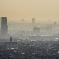 In this March 14, 2014 file photo, a layer of smog covers the city of Brussels.  (Geert Vanden Wijngaert, file/AP)