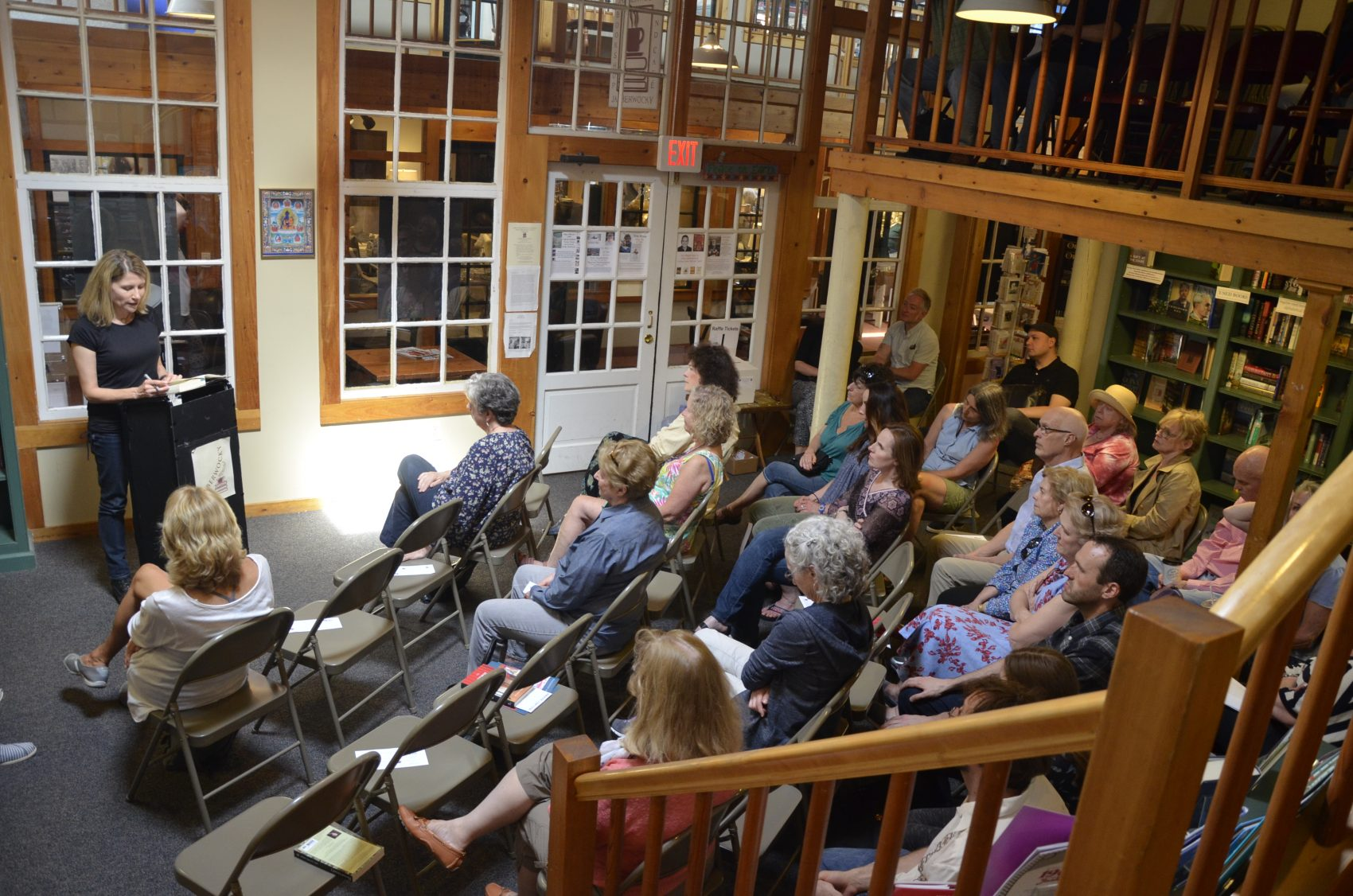 A reading at last year's Newburyport Literary Festival inside the Jabberwocky Bookshop. (Courtesy Jay McCarthy/Newburyport Literary Festival)