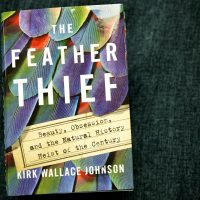 """""""The Feather Thief,"""" by Kirk Wallace Johnson. (Robin Lubbock/WBUR)"""