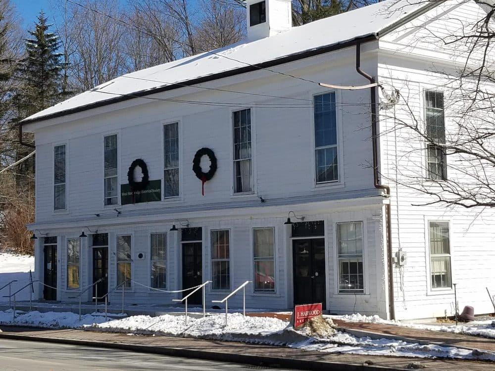 The old town hall in West Stockbridge, Massachusetts. Adam Frenier/NEPR)