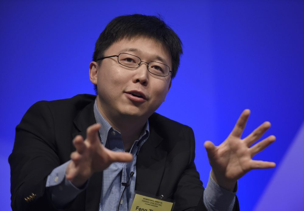 Feng Zhang, in a 2015 file photo (Susan Walsh/AP)