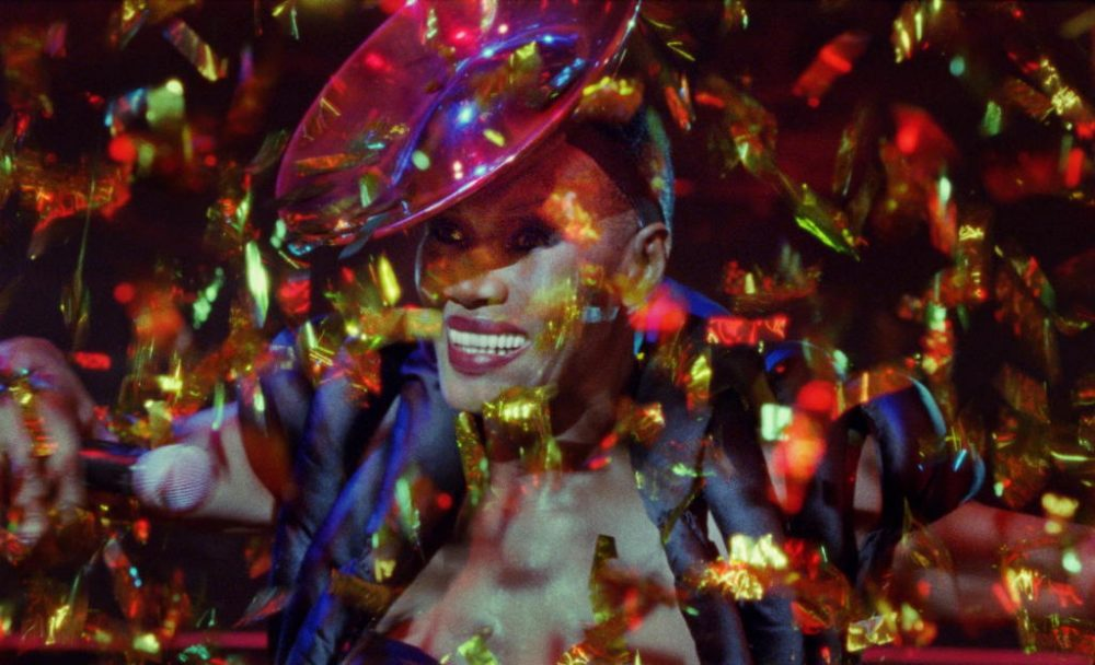 """Icon Grace Jones is the subject of the new documentary """"Grace Jones: Bloodlight and Bami."""" (Courtesy Kino Lorber)"""