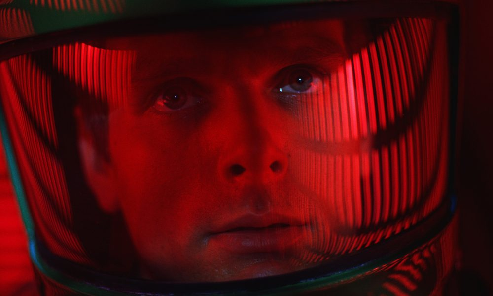 "This image released by Warner Bros. Pictures shows Keir Dullea in a scene from the 1968 film, ""2001: A Space Odyssey.""  (Warner Bros. via AP)"