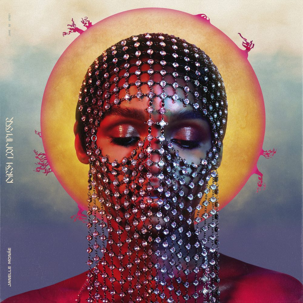 "The album cover for Janelle Monáe's 2018 album ""Dirty Computer."" (Courtesy of the artist)"
