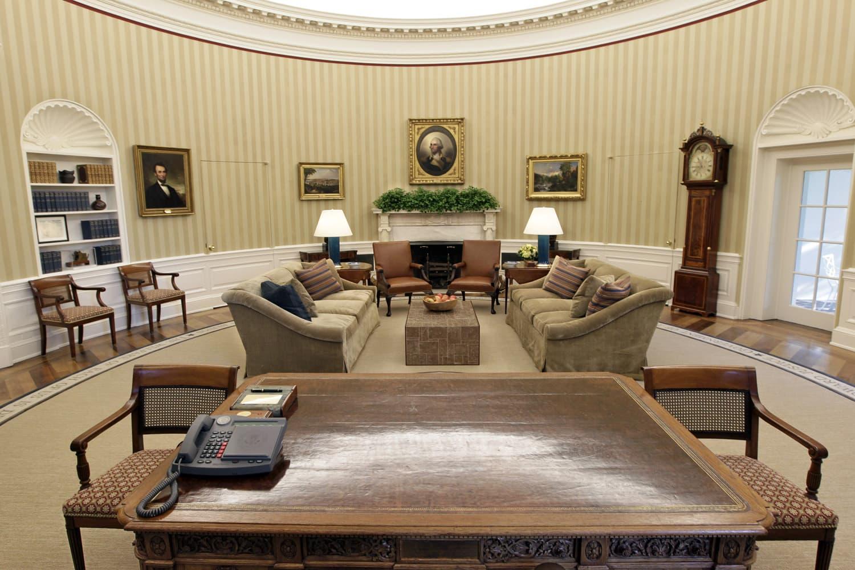 The Oval Office as seen in August 2010. (J.Scott Applewhite/AP)
