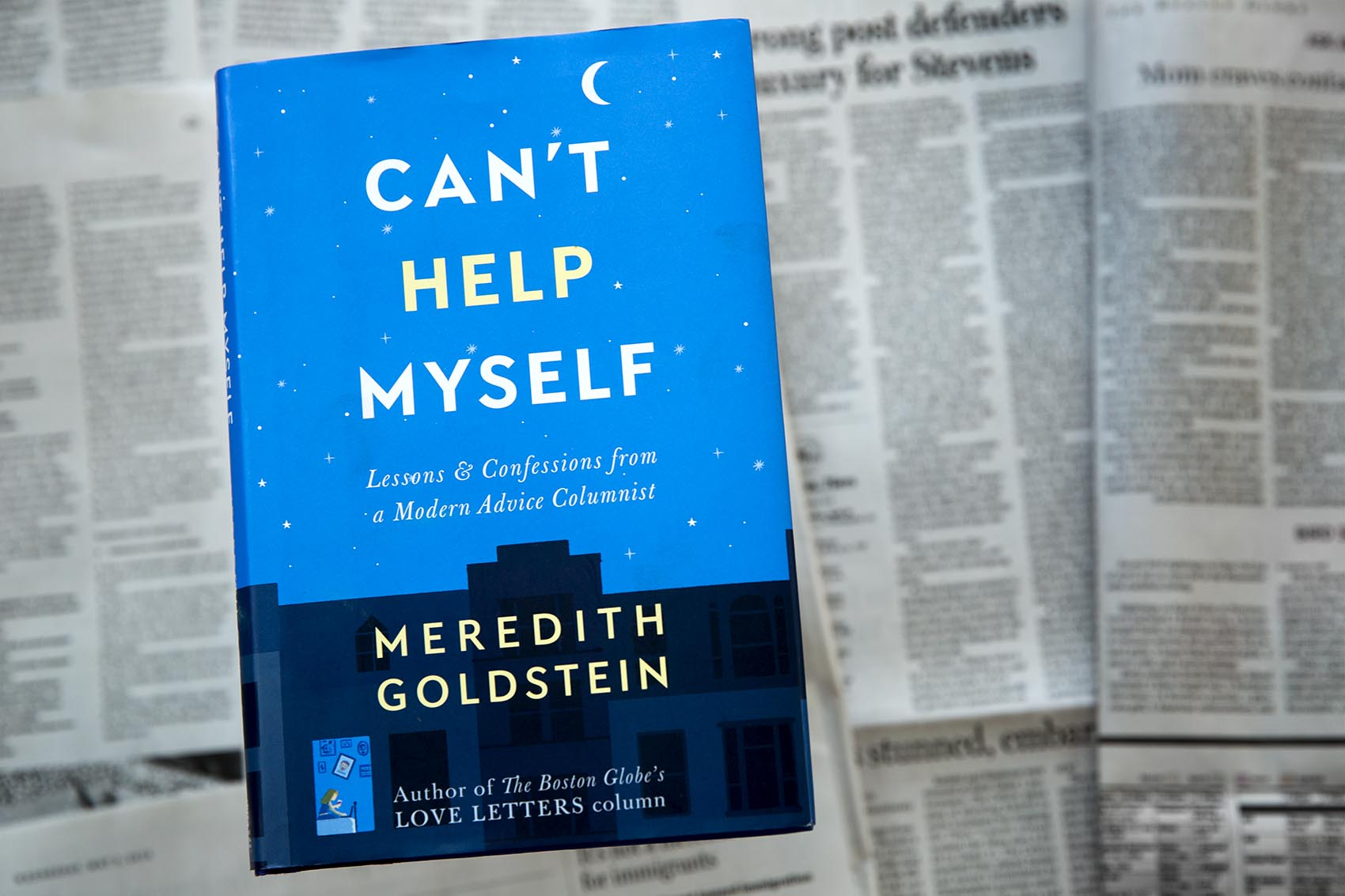 """Can't Help Myself,"" by Meredith Goldstein. (Robin Lubbock/WBUR)"