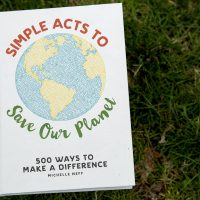 """Simple Acts to Save Our Planet,"" by Michelle Neff. (Robin Lubbock/WBUR)"