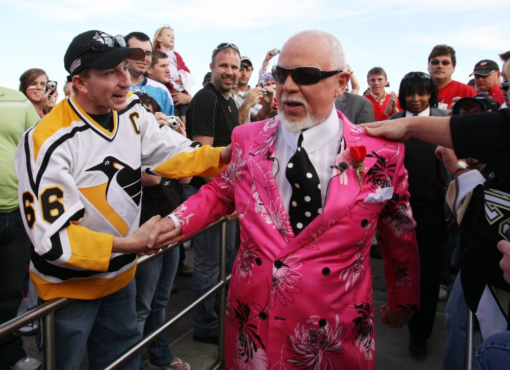 Don Cherry never coached a team to a championship -- at least, that's what most people think. (Carlos Osorio/AP)