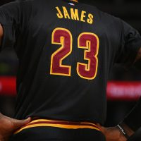 Should a fan hide their soft spot for LeBron James, if they don't live in Cleveland? (Doug Pensinger/Getty Images)