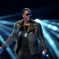 R. Kelly performs at the BET Awards at the Nokia Theatre on Sunday, June 30, 2013, in Los Angeles. (Frank Micelotta/Invision/AP)