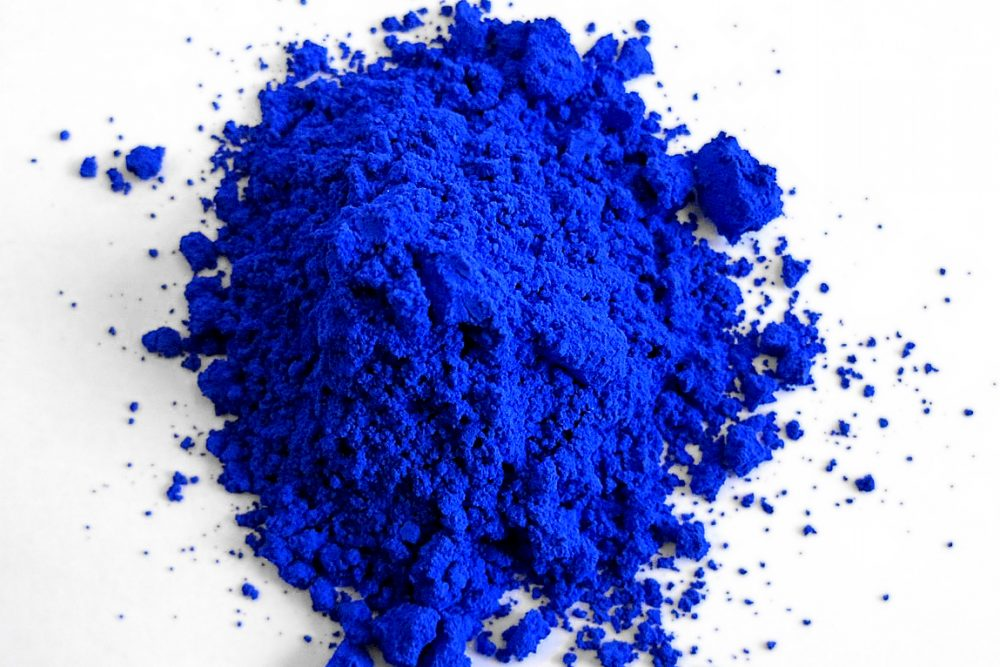 discovery of 1st new blue pigment in 200 years leads to quest for
