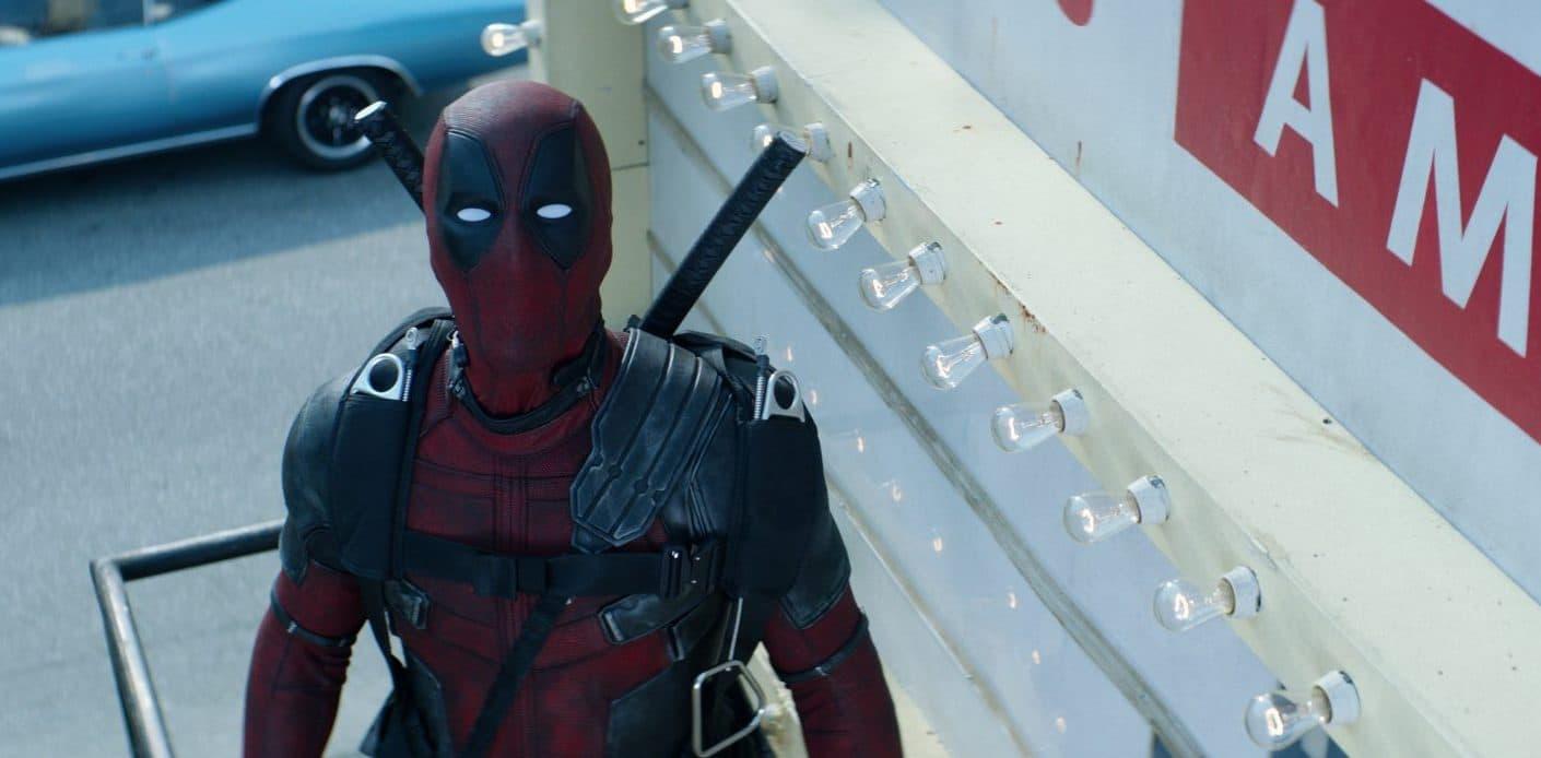 Ryan Reynolds as Deadpool. (Courtesy Twentieth Century Fox)