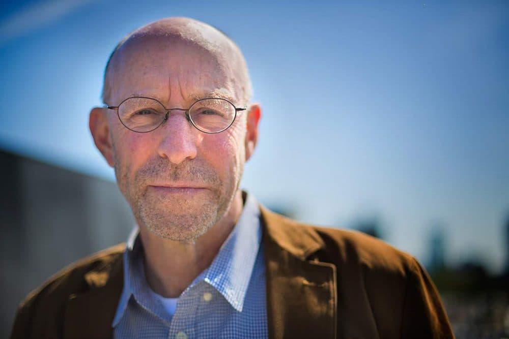 Journalist and author Michael Pollan. (Jesse Costa/WBUR)