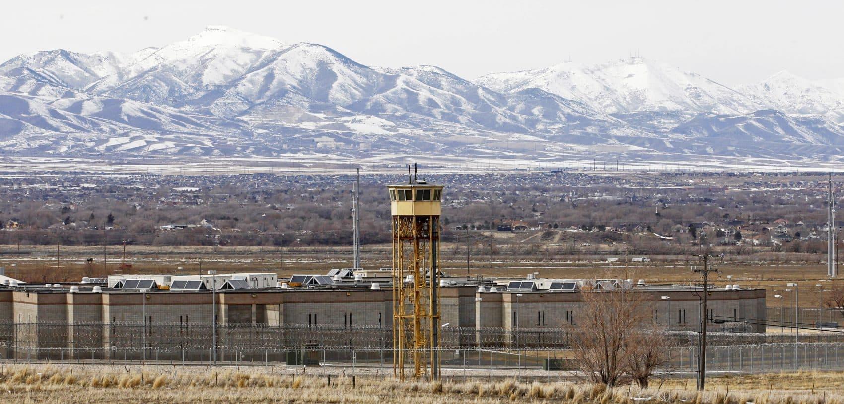 This Feb. 19, 2013, file photo, shows the Utah State Prison in Draper, Utah. (Rick Bowmer, File/AP)
