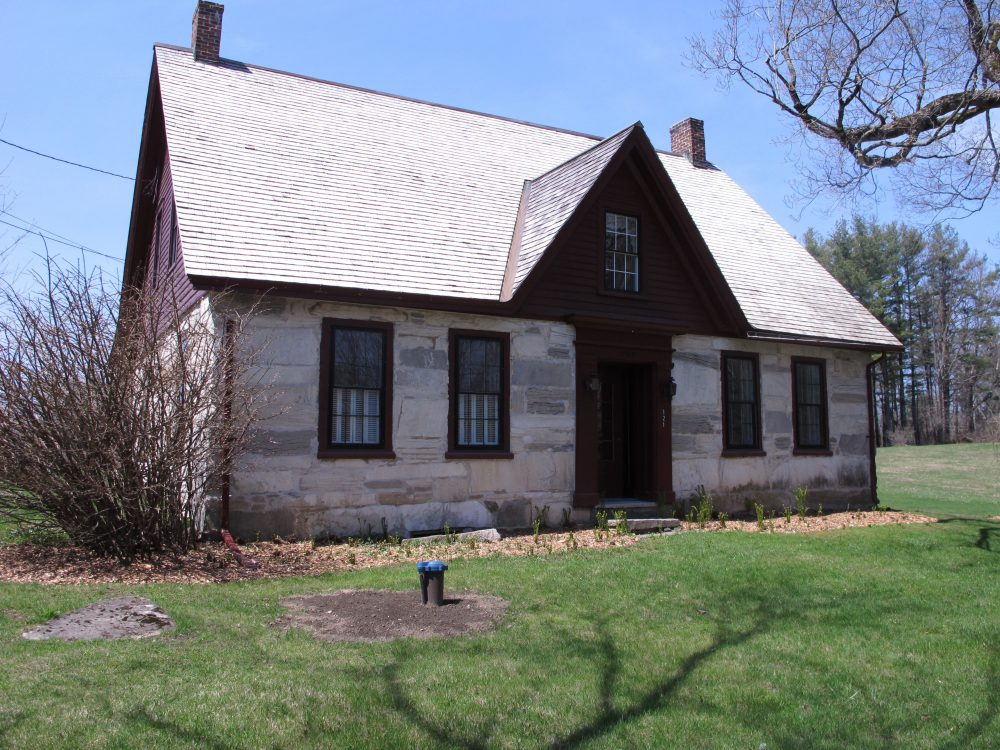 The Robert Frost Stone House Museum in Shaftsbury, Vermont is now owned by Bennington College. (Lisa Rathke/AP)