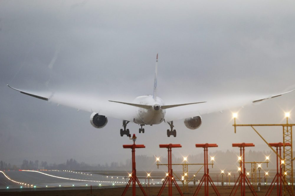 In some cases, planes make emergency landings so the passenger can get treatment. But in others, sick passengers are treated on board. (Poppe Cornelius/AFP/Getty Images)