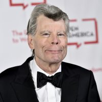 PEN literary service award recipient Stephen King at the gala Tuesday night in New York City. (Evan Agostini/Invision/AP)