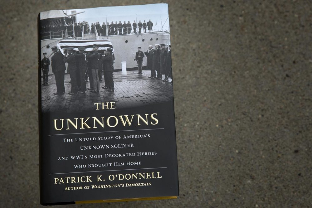 """""""The Unknowns,"""" by Patrick K. O'Donnell. (Robin Lubbock/WBUR)"""