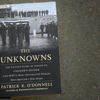 """The Unknowns,"" by Patrick K. O'Donnell. (Robin Lubbock/WBUR)"
