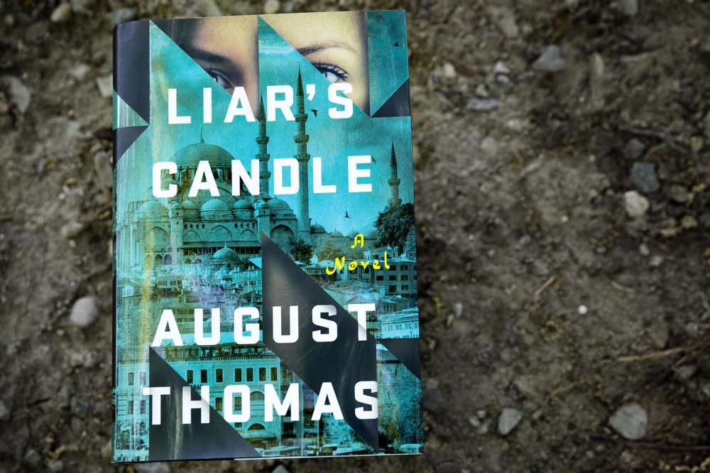 Liar's Candle, by August Thomas. (Robin Lubbock/WBUR)