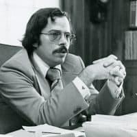 Longtime Boston Phoenix publisher Stephen Mindich. (Courtesy Northeastern University Archives)