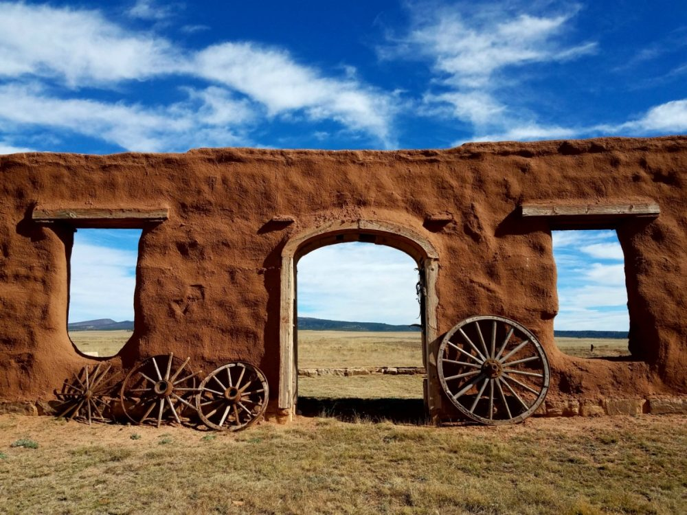 Fort Union National Monument in New Mexico. (Courtesy Kristy Burns/U.S. Department of the Interior)