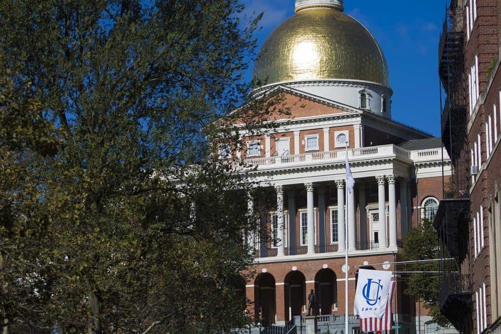 The Massachusetts State House. (Jesse Costa/WBUR)