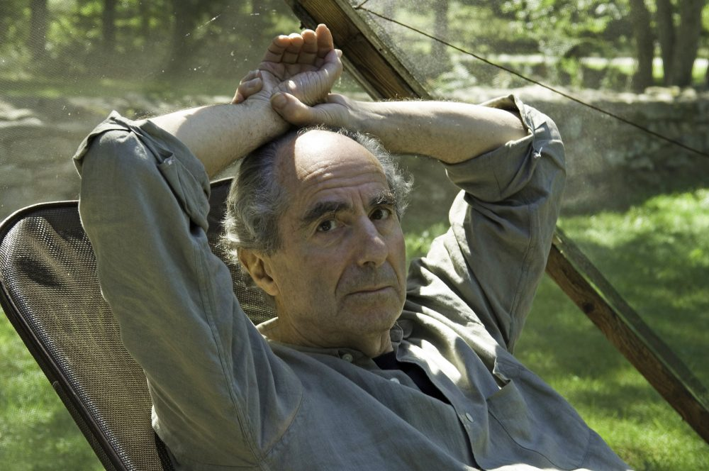 In this photo, Philip Roth is pictured at his home Sept. 5, 2005 in Warren, Conn. Roth, prize-winning novelist and fearless narrator of sex, religion and mortality, has died at age 85, his literary agent said Tuesday, May 22, 2018. (Douglas Healey/AP)