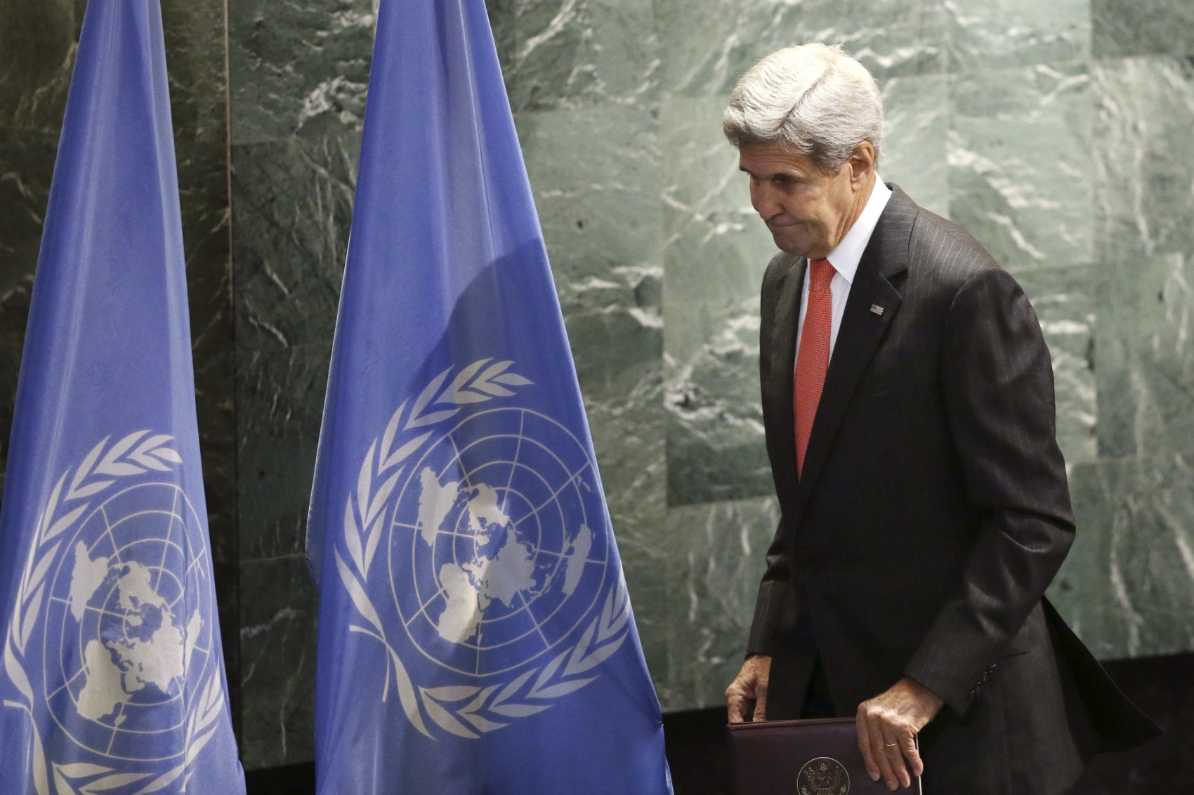 John Kerry will be the keynote speaker at the climate summit in Boston. (Seth Wenig/AP)
